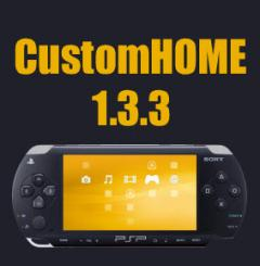 Grab the latest update to PSP Homebrew CustomHome version 1.3.3