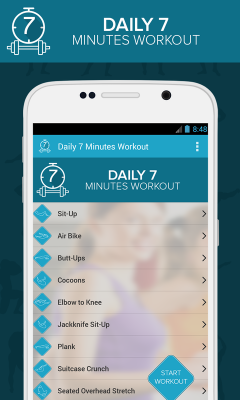 Daily 7 Minutes Workout