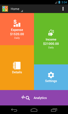 Daily Income Expense Manager
