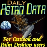 Daily Astronomy Data 2011 Win Mobile