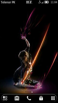 Dance Rain By Sherz