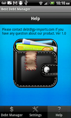 Debt Manager Deluxe