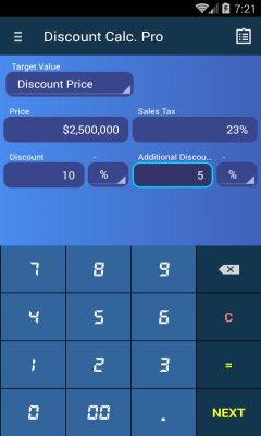 Discount Calculator free