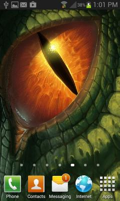 Dragon Eyes Live Wallpaper
