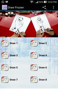 Draw Frozen