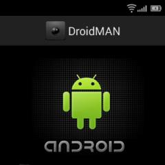 DroidMAN: An Improved Android Interface for WebMAN