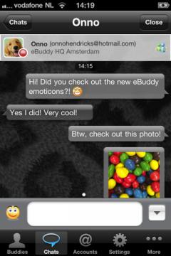 eBuddy Pro for iPhone