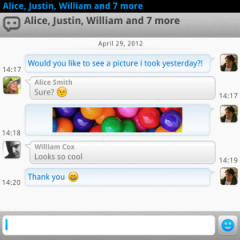eBuddy XMS for BlackBerry