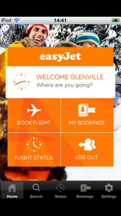 easyJet for iPhone