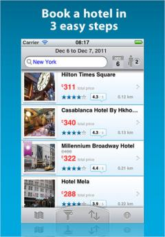 ebookers for iPhone/iPad