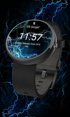 Electric Energy Watchface