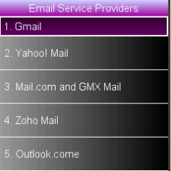 Email new version