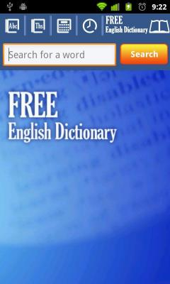 English Dictionary App V2