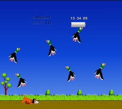 (Exploding) Duck Hunt Game