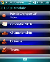 F1 2010 Mobile