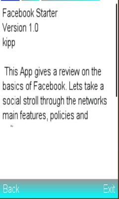 Facebook Starter