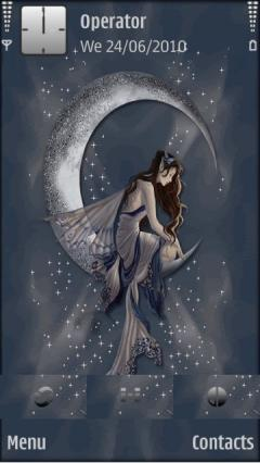 Fairy On Moon