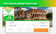 FERNBUSSUCHE - Finde Deine nächste Fernbusreise