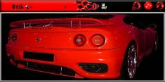 RED FERRARI  7710 THEME-WALLPAPER ATTACHED