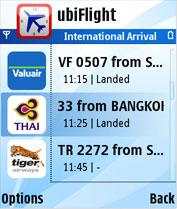 Flight Info in Indonesia with ubiFlight