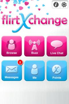 flirtXchange for iPhone/iPad