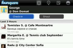Foursquare (BlackBerry)