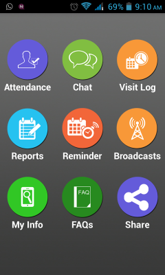 Free Staff Mobile Tracker and Attendance System