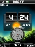 Fresh Nature Clock