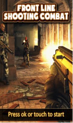 FrontLine Shooting Combat-free