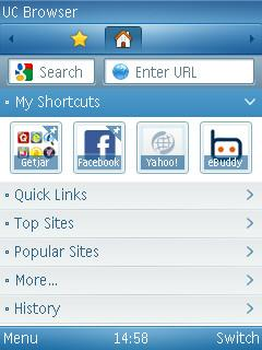 UC Browser for S60v3