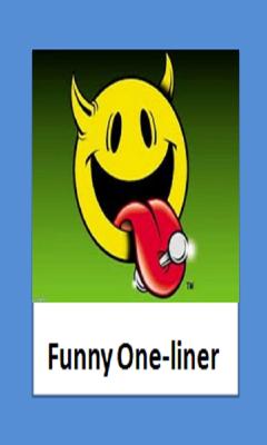 Funny Oneliner