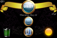 Gold Coin Theme Pack for BlackBerry Bold 9000