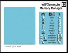 GameCube Memory Manaer
