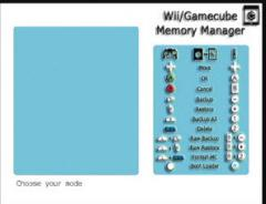 GameCube Memory Manager