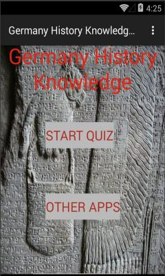 Germany History Knowledge test