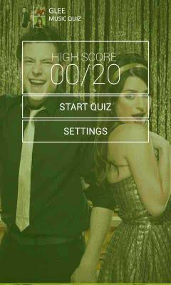 Glee Music Quiz