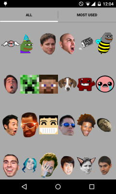 Global Twitch Emotes