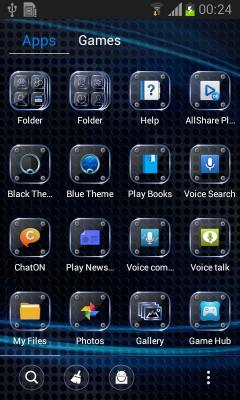 Go Launcher Black Theme