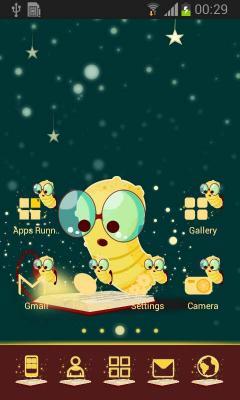 Go Launcher Cute Theme