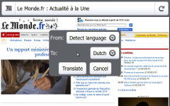 goTranslate - Firefox Addon