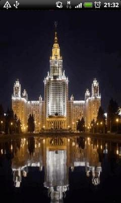 Golden Light Buildings