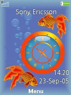Goldfish Clock