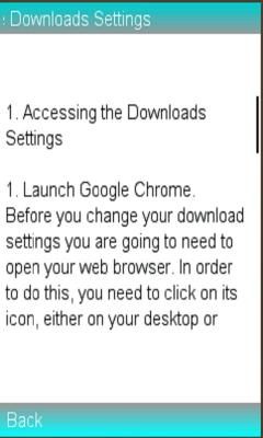 Google Chrome Downloads Settings