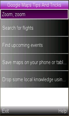 Google Maps Tip And Tricks