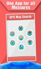 GPS Map Search Compass & Track