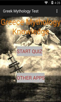 Greek Mythology Knowledge test