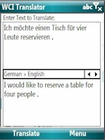 WCI Translator 2.2: English-German for Mobile 6.x