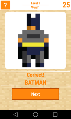 Guess The Pixel Superhero
