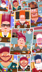 Hair Styler Salon - Kids Game