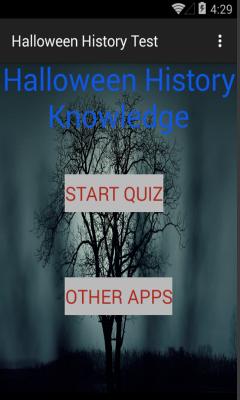 Halloween History test